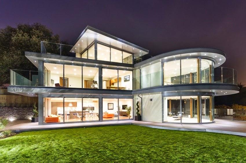 Conseils d co et relooking fa ades de maisons modernes et for Photo de facade de maison moderne