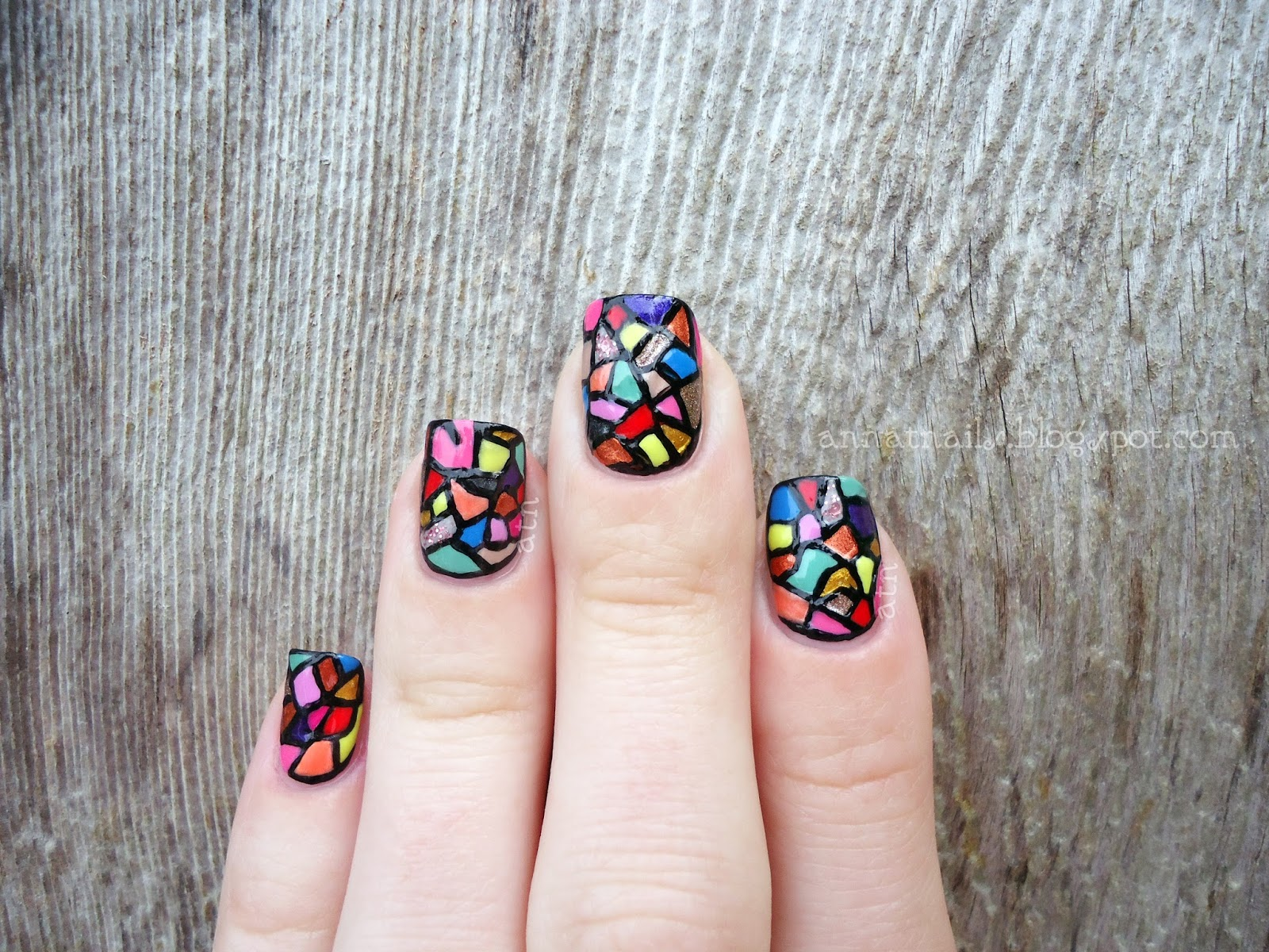 Refinery29 Instagram Nail Art Competition Week One Annatnails