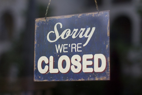 CLOSED | TUTUP | GESLOTEN