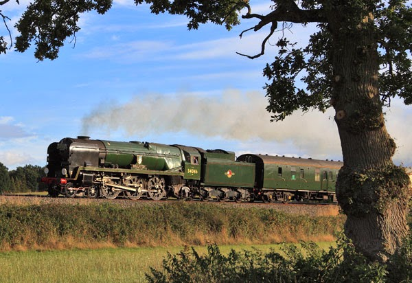 Dorset Coast Express Steam Train Excursion Timetable 2014