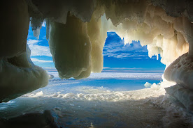 Lake Superior Ice Caves