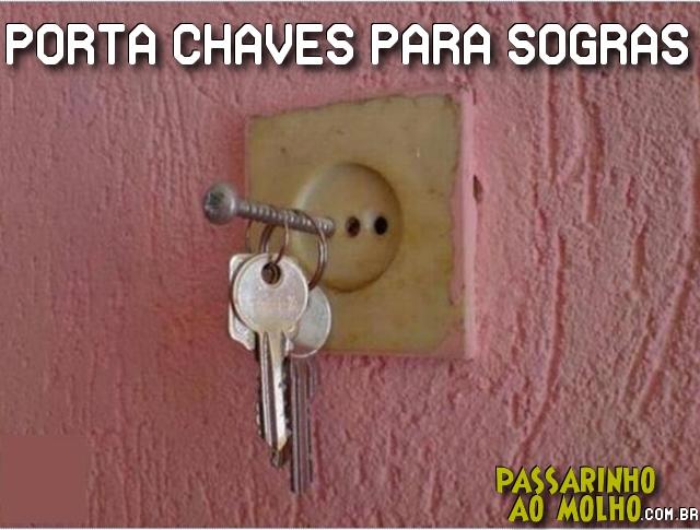 porta chave, sogras, homicídio