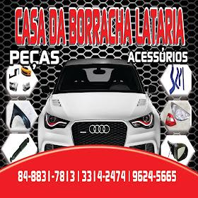 CASA DA BORRACHA LATARIAS ACESSORIOS
