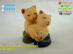 Kucing Mix Resin Clay Accouple