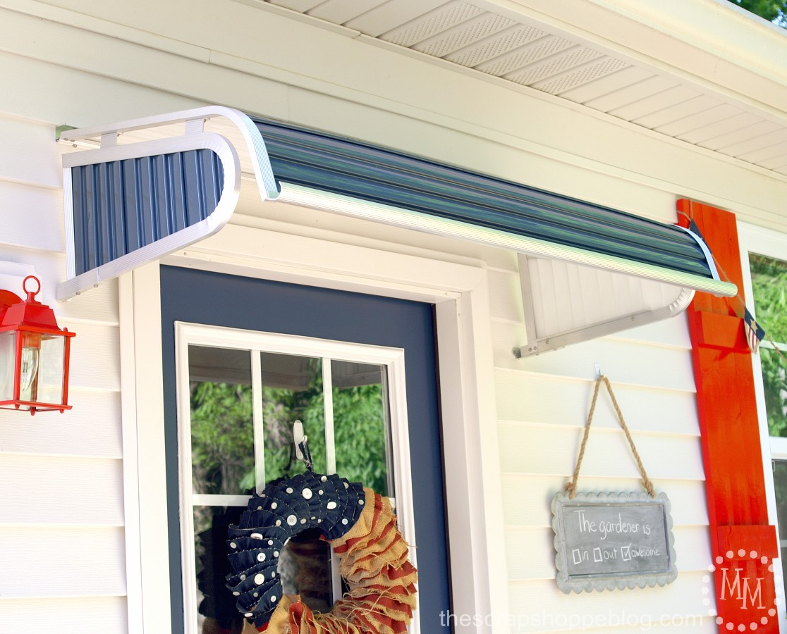 paint a door for an instant makeover the scrap shoppe