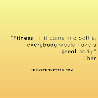 Fitness quote by Cher