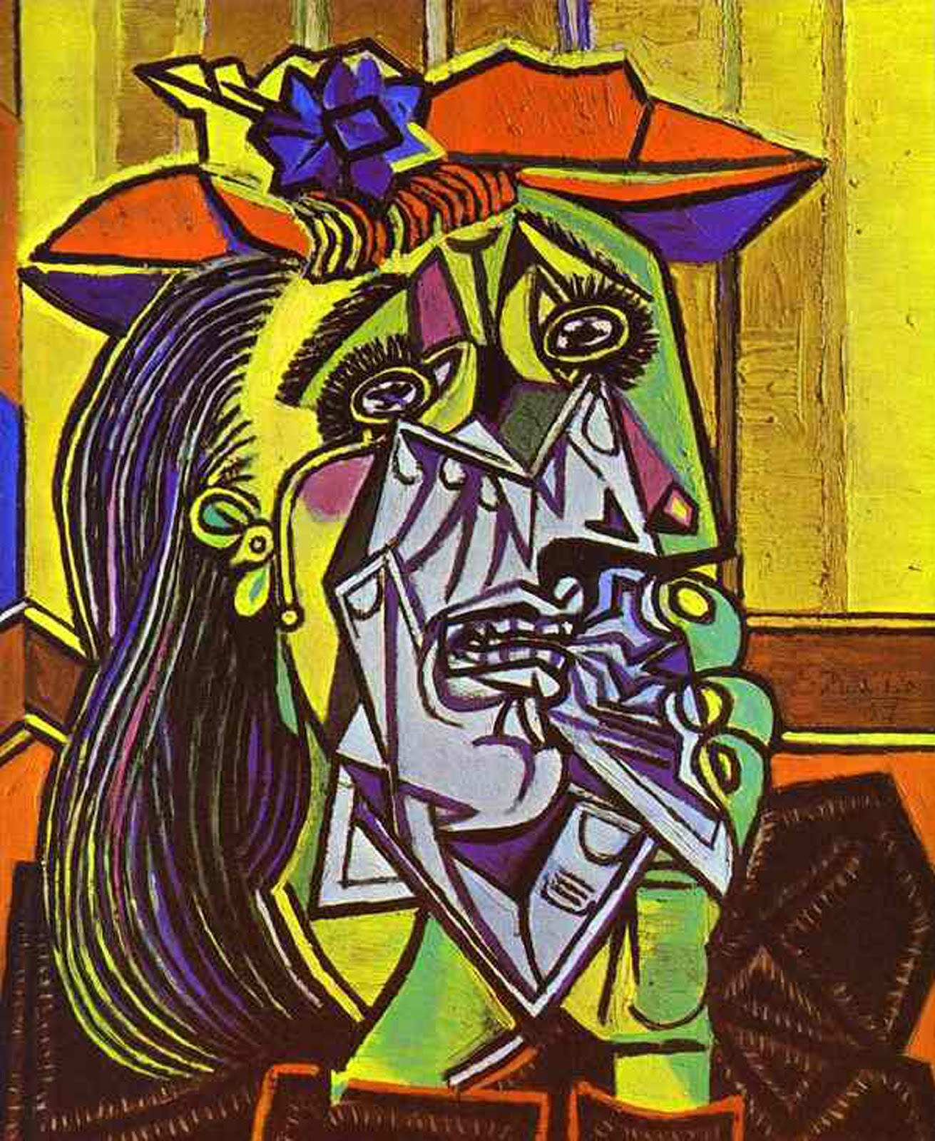 Picasso Cubist Faces Fortunately at that age i