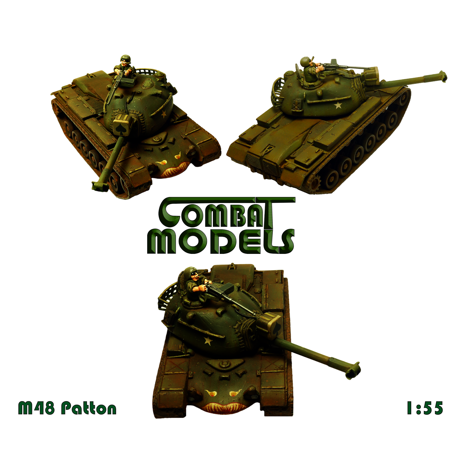 M48A3 Patton Combat Models