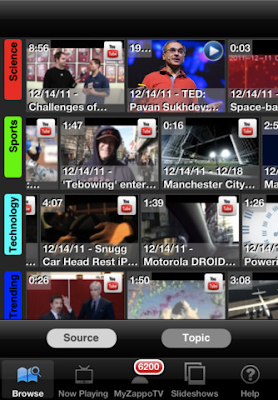 ZappoTv App For iOS Device, Android, XBOX 360