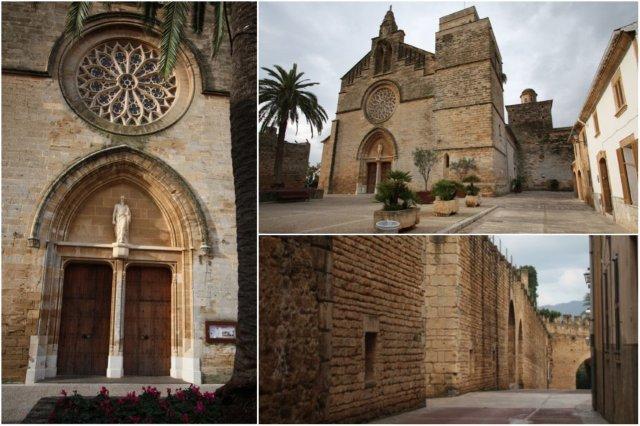 Iglesia en Alcudia, Mallorca – Murallas