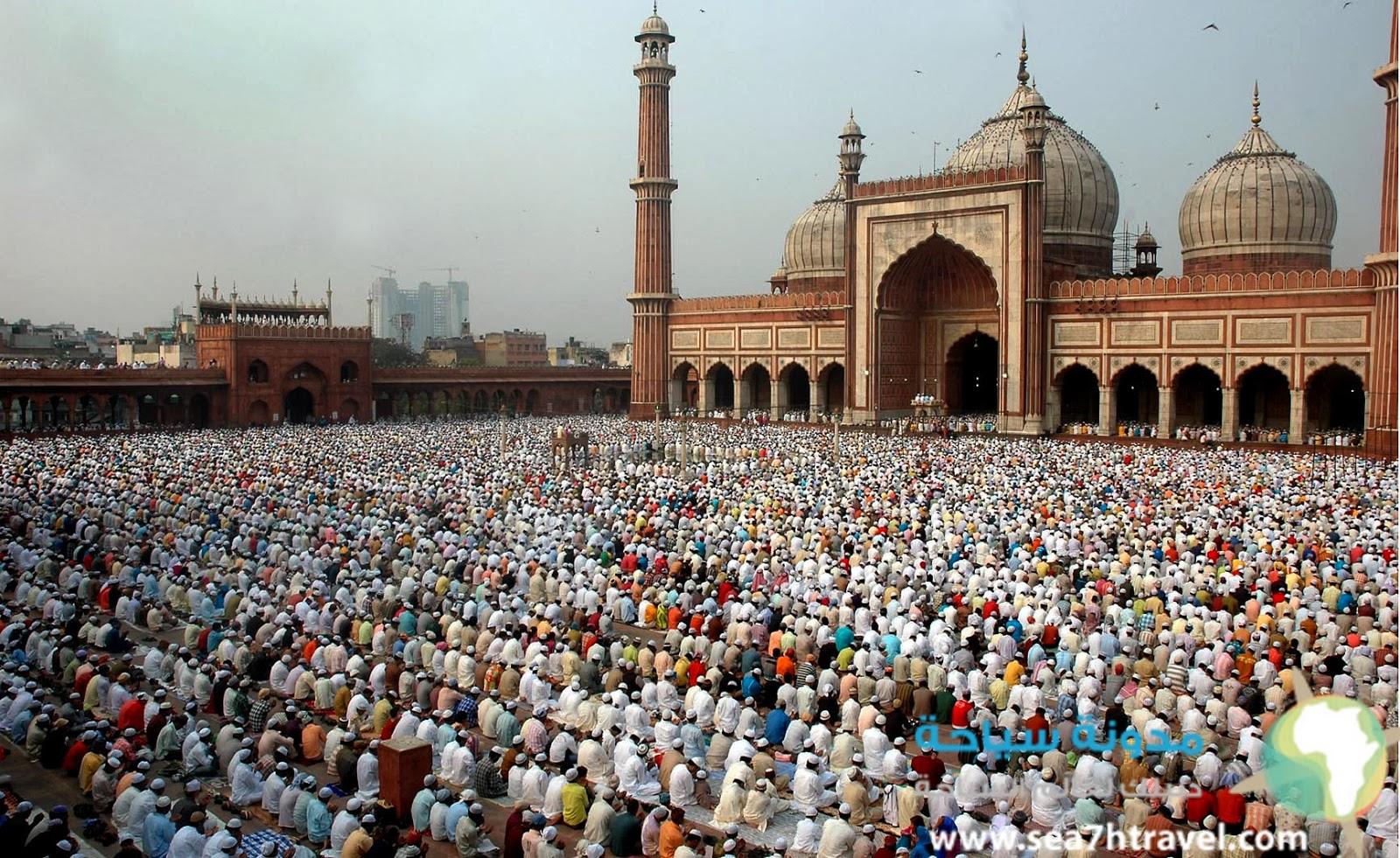 المسجد جامع في دلهي