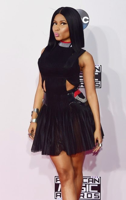 Singer Nicki Minaj attends the 2014 American Music Awards