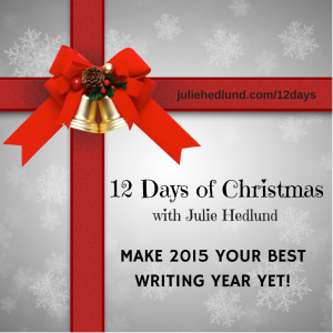 12 Days of Christmas for Writers