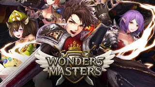 Screenshots of the Wonder 5 masters for Android tablet, phone.