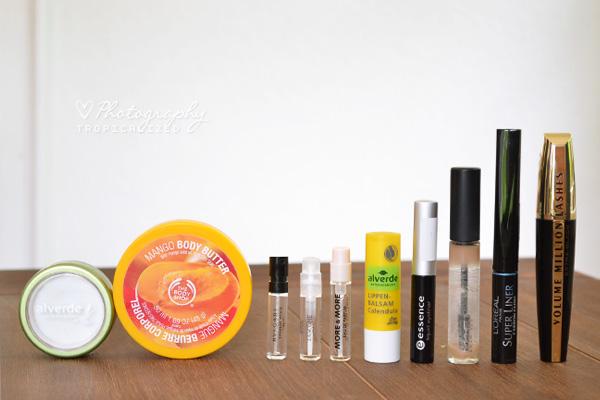 Aufgebrauchte Kosmetik im April Mai 2012 Teil 2
