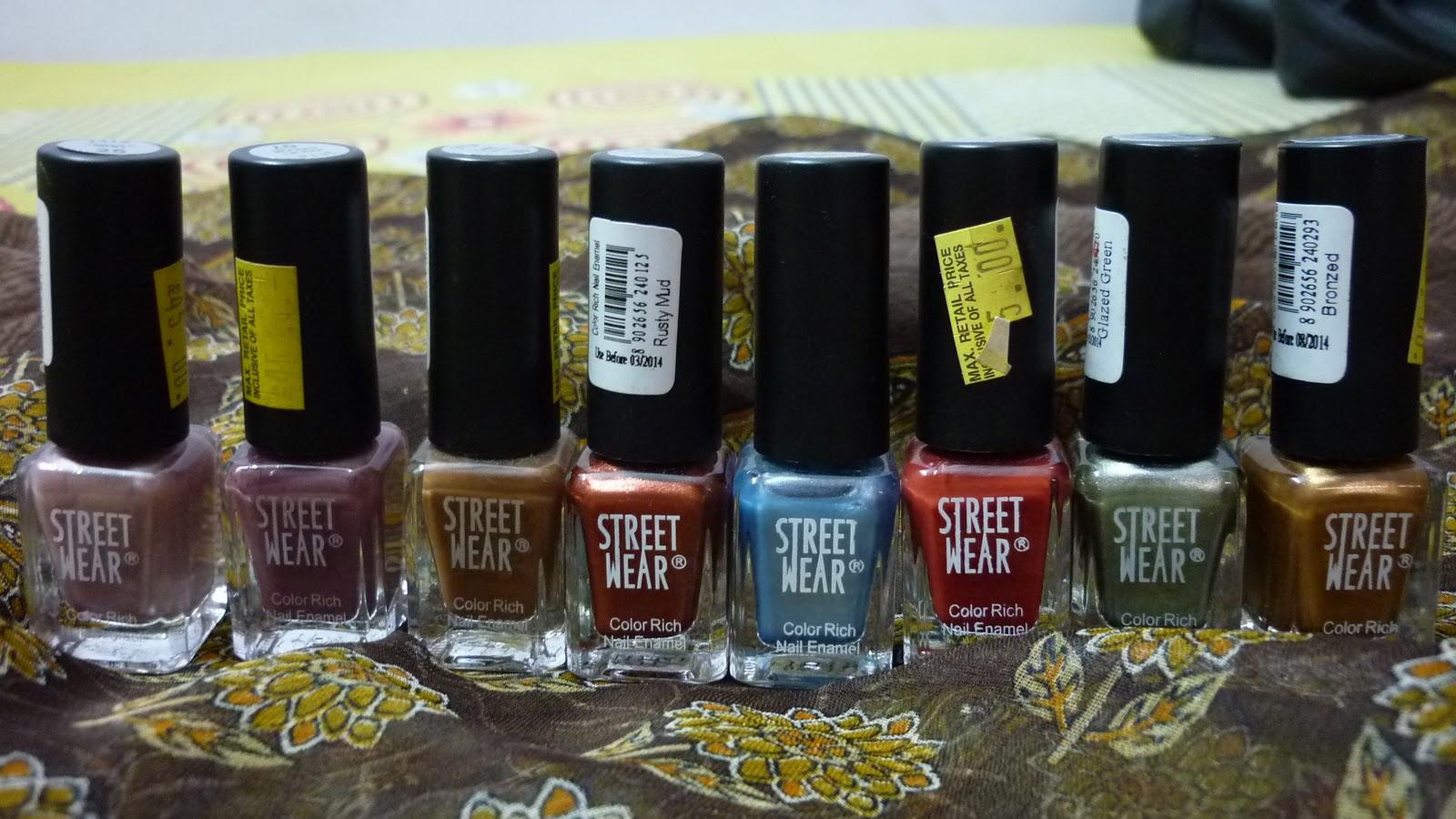 Street Wear – Color Rich Nail