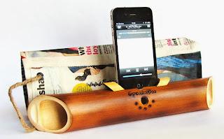 Loa iphone phong cách từ tre