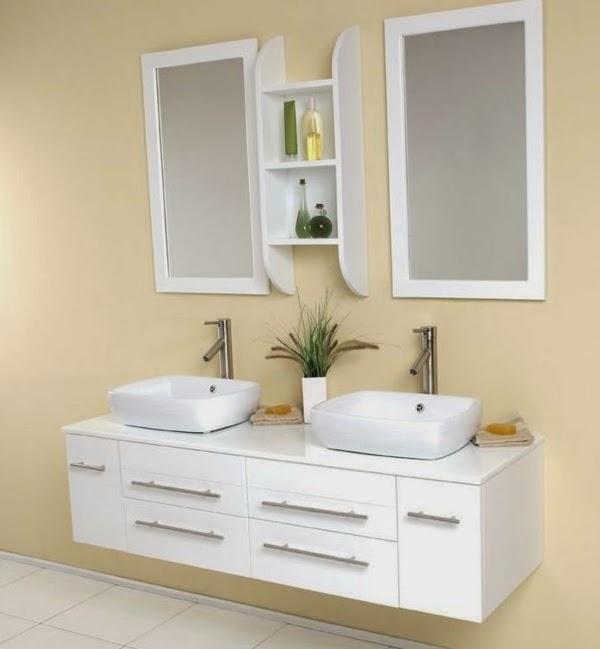 10 ideas of double sink vanity cabinets in bathroom interior for Ultra bathroom vanities burbank