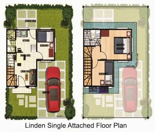 desain rumah minimalis 2 lantai denah rumah type 90
