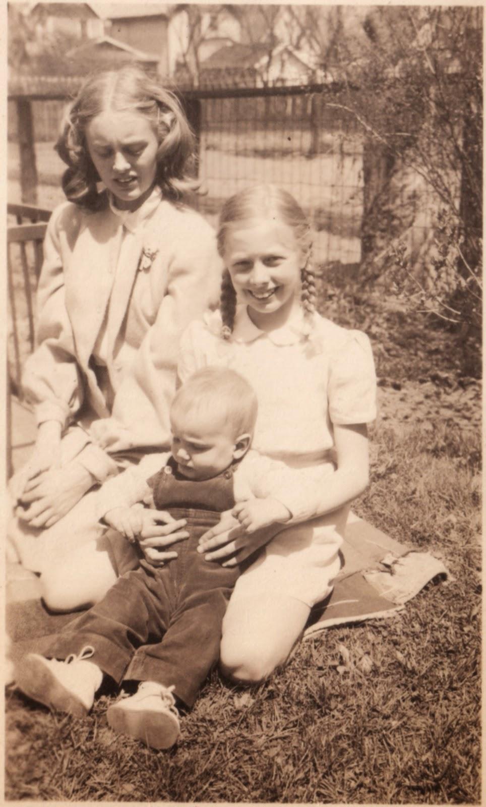 1948 Elizabeth & Lynn & David.
