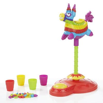 TOYS : JUGUETES - Pop Pop Piñata | Juego de Mesa 2016 Hasbro Gaming B4983 | Jugeadores: 2-4 | Edad: +4  Comprar en Amazon España