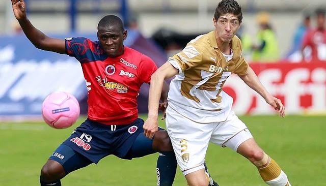 Ver partido Veracruz vs Pumas en vivo