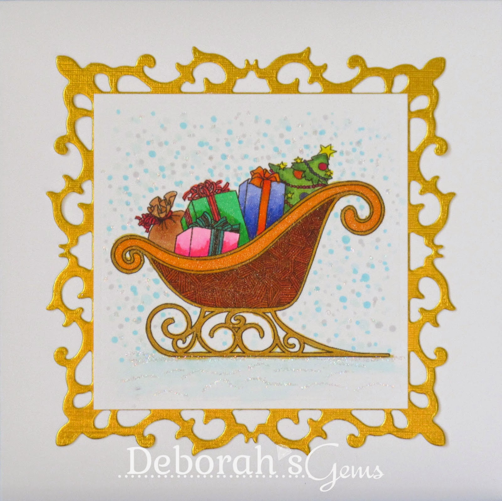 Sleigh Presents - photo by Deborah Frings - Deborah's Gems