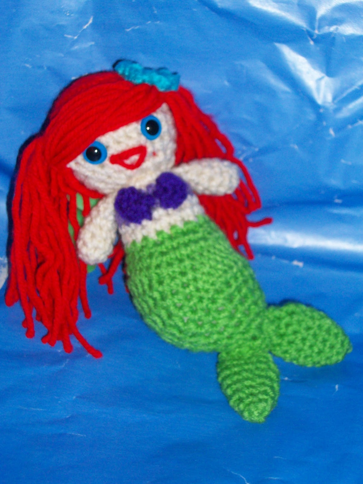 Owlishly: Ta-Da! Mere the Mermaid amigurumi pattern