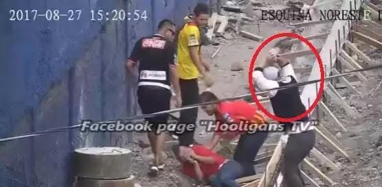 Χτύπημα απίστευτης βαρβαρότητας μεταξύ οπαδών της Κόστα Ρίκα VIDEO