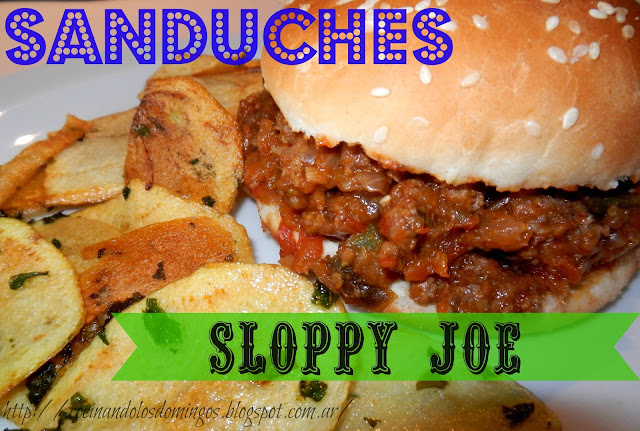 sanduches sloppy joe caseros