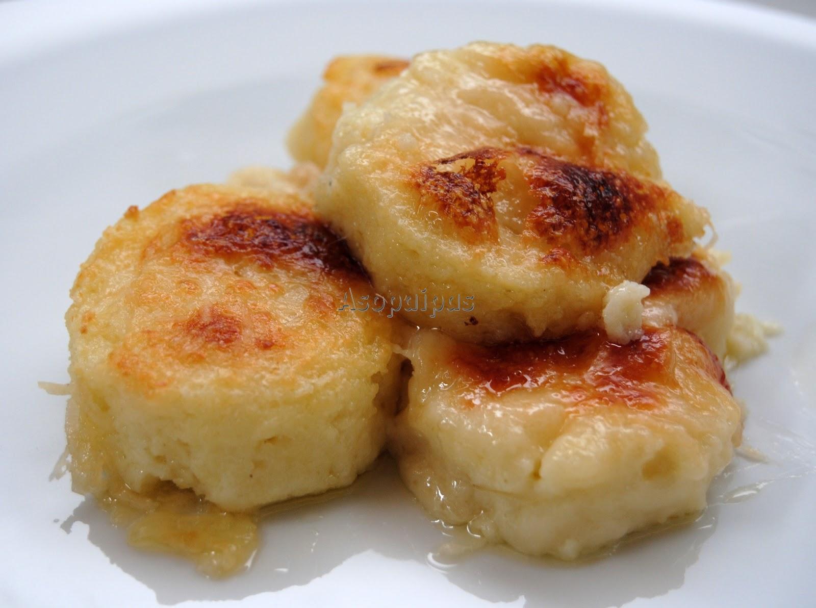 ... Recetas de Cocina Casera .: Ñoquis a la Romana (Gnocchi alla Romana