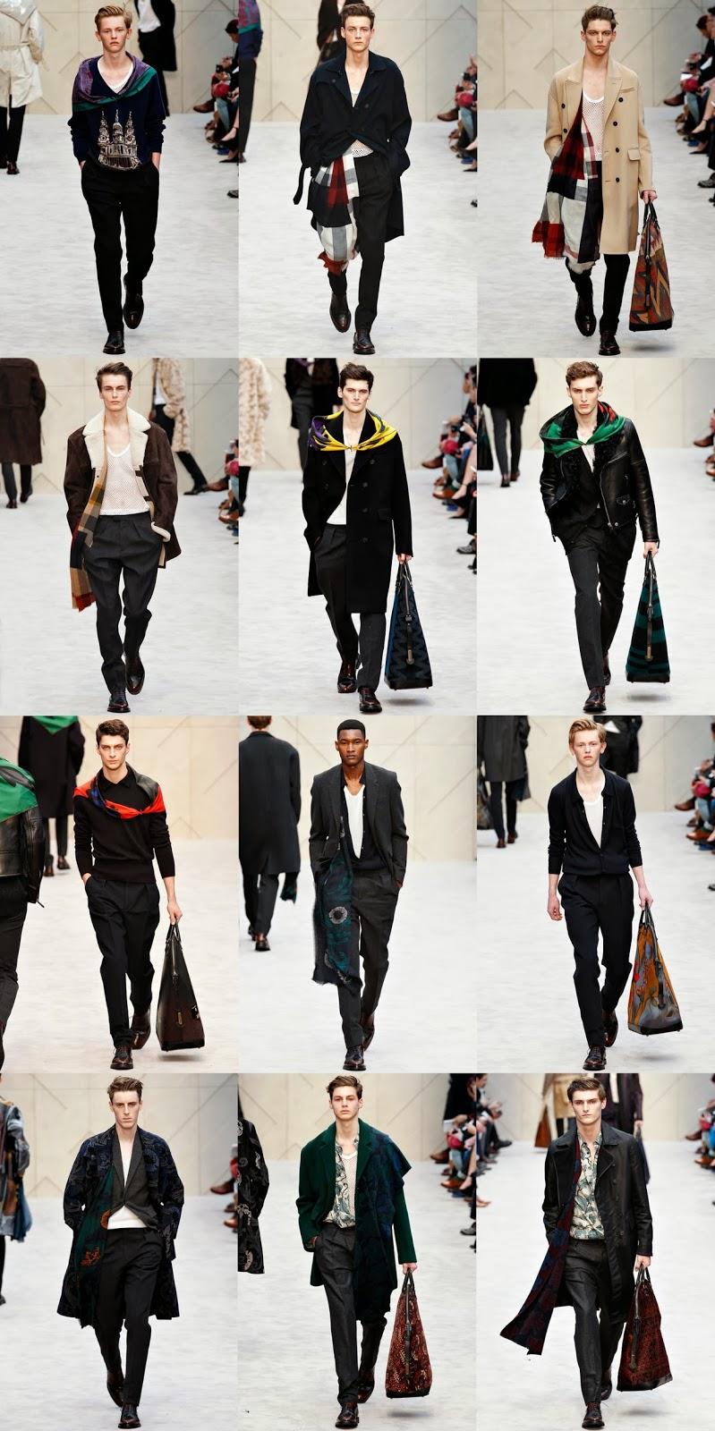 Burberry Prorsum Menswear, Burberry Prorsum Fall Winter, Burberry Prorsum Harry Styles