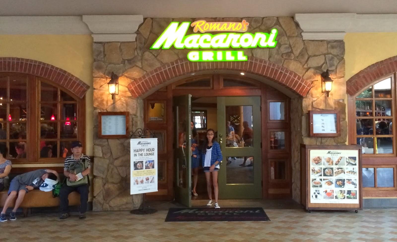 TASTE OF HAWAII: ROMANO\'S MACARONI GRILL