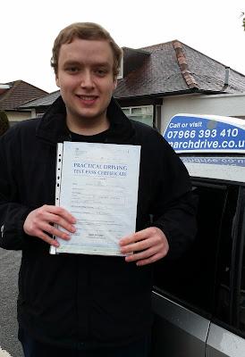 Euan MacTaggart Driving Test Pass