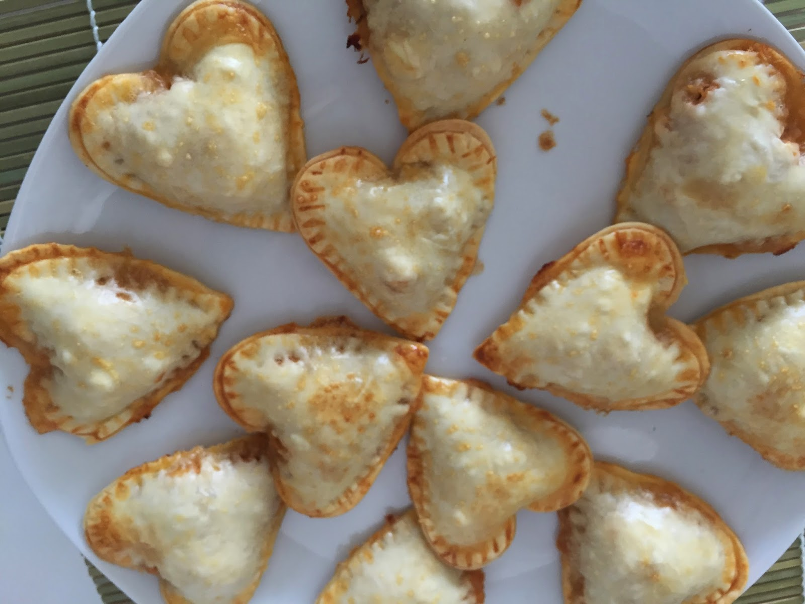 Empanadillas San valentín
