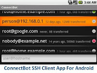 ConnectBot SSH Client App For Android