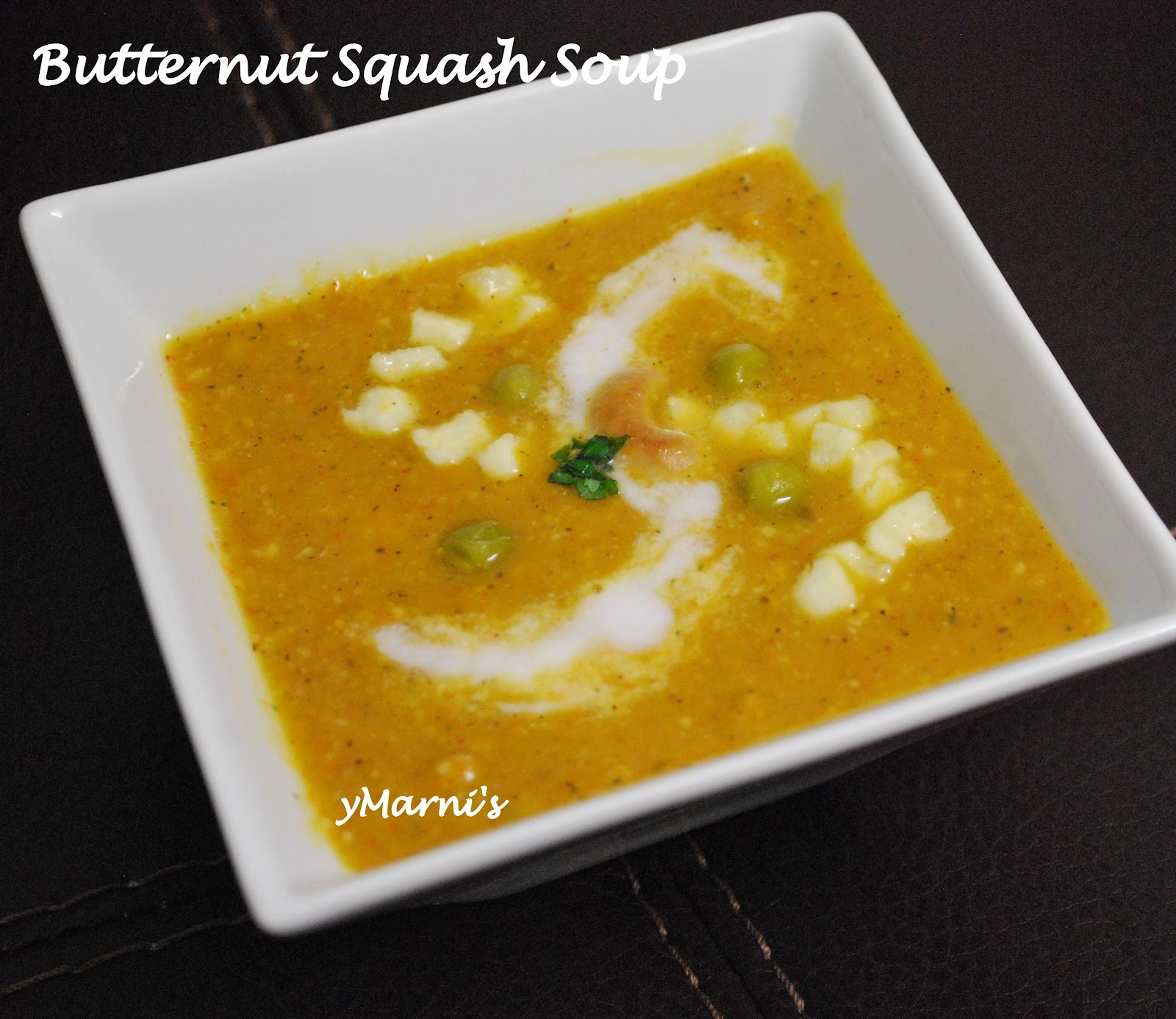 Butternut Squash Soup | yMarni's Vegetarian Compendium
