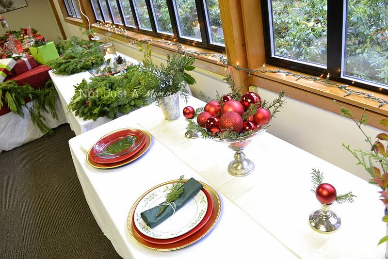 Arboretum Foundation Gifts And Green Galore centerpieces