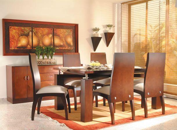 Mi casa mi hogar comedores modernos 2013 for Adornos modernos para comedor