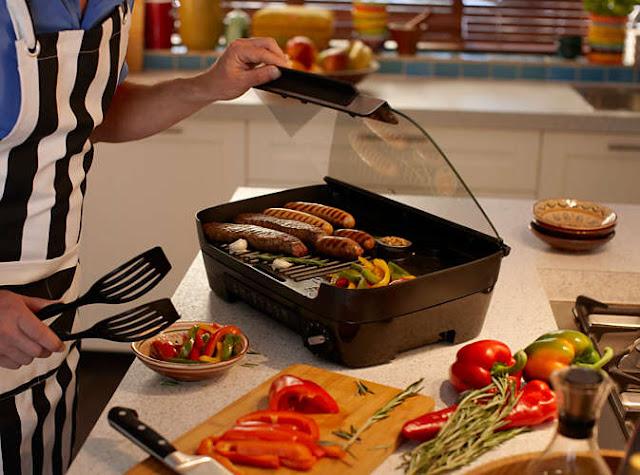 O zi toridă și un grill portughez