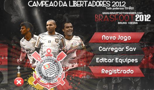 Skin Corinthians Campe  O Libertadores 2012     Brasfoot 2012