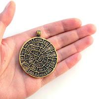 фестский диск купить украшение подвеску из бронзы тайна