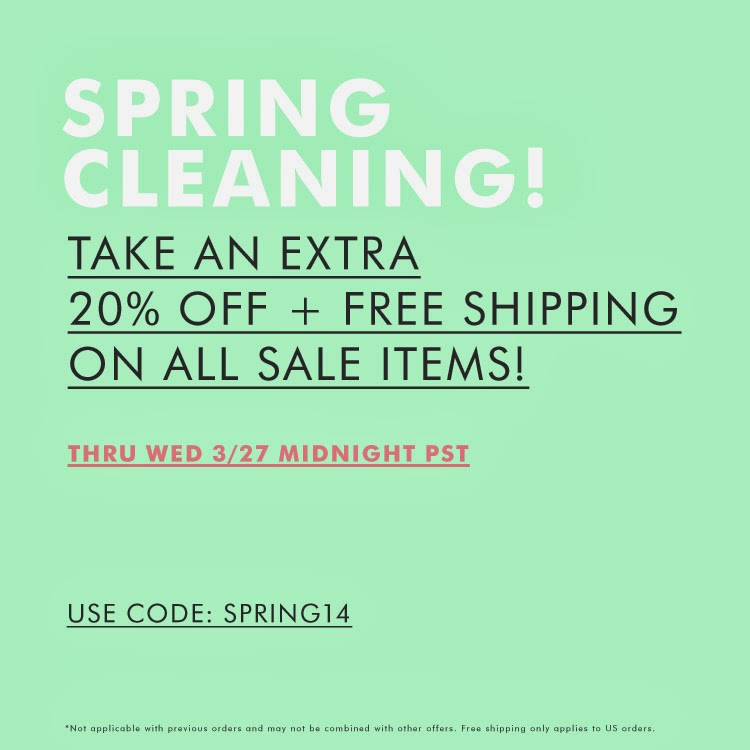 Ladiesfashionsense Spring Cleaning Sales Event