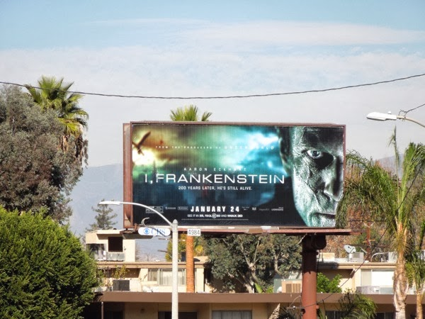 I Frankenstein movie billboard