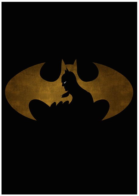 Lily's Factory ilustrações quadrinhos super heróis marvel dc sombras minimalistas Batman