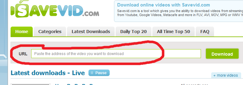 how to download videos from url free online