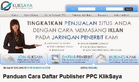 Daftar PPC KlikSaya