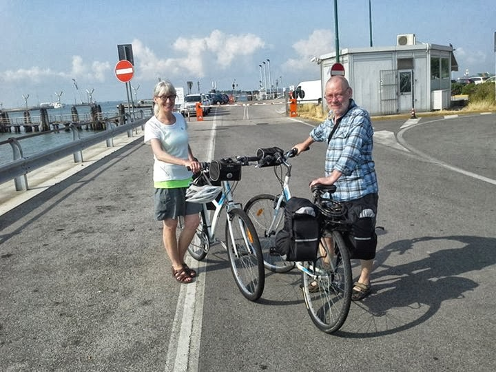 cycling vacation Italy - Croatia