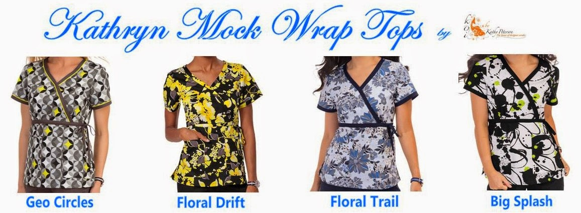 New Kathryn Mock Wrap Tops