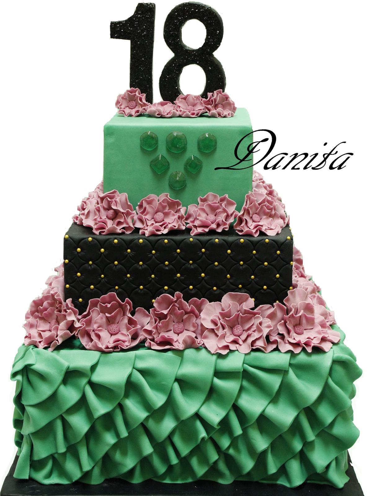 Le leccornie di danita torta fashion per 18 anni for Torte per 18 anni maschile